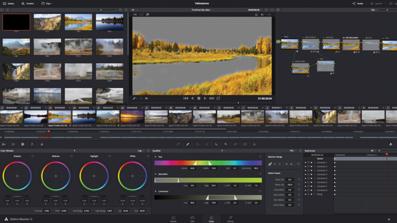 how to bring up waveforms on blackmagic videoassist
