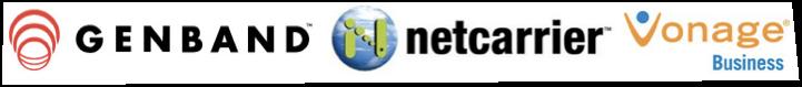 Silver Sponsors, Genband, NetCarrier, Vonage