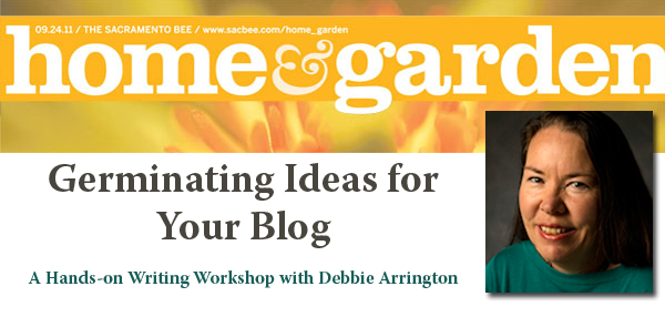 "Free Workshop at The Bee Jan. 25: ""Germinating Ideas for Your Blog"""