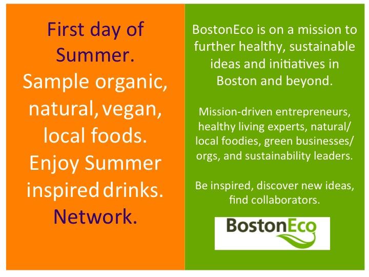 BostonEco summer invite
