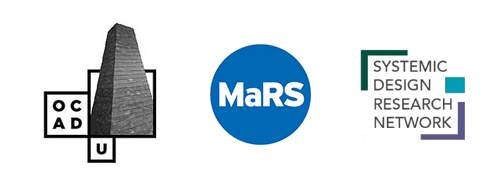 OCAD U, MaRS and Systemic Design Research Network