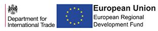 DIT and ERDF logos