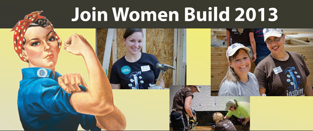 Women Build 2013 Banner