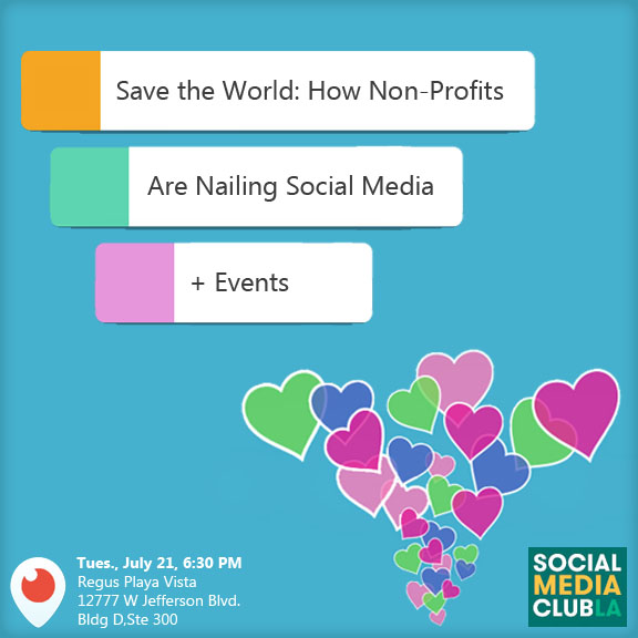 Save the World: How Non-Profits Are Nailing Social Media + Events