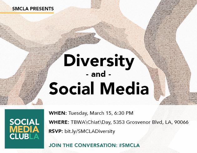 SMCLA Presents Diversity and Social Media