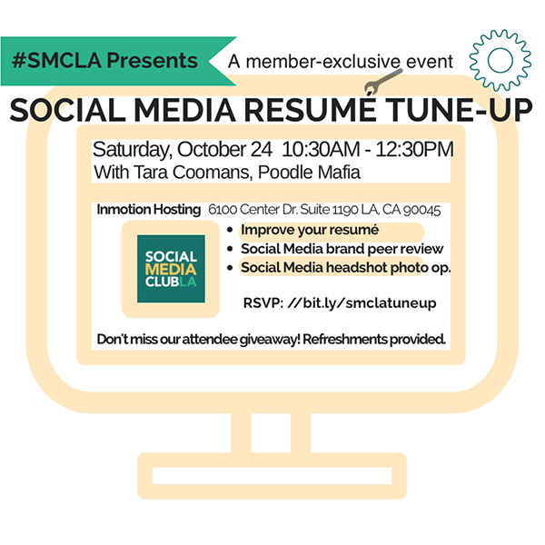10/24 SMCLA Presents Social Media Resume Tune-Up