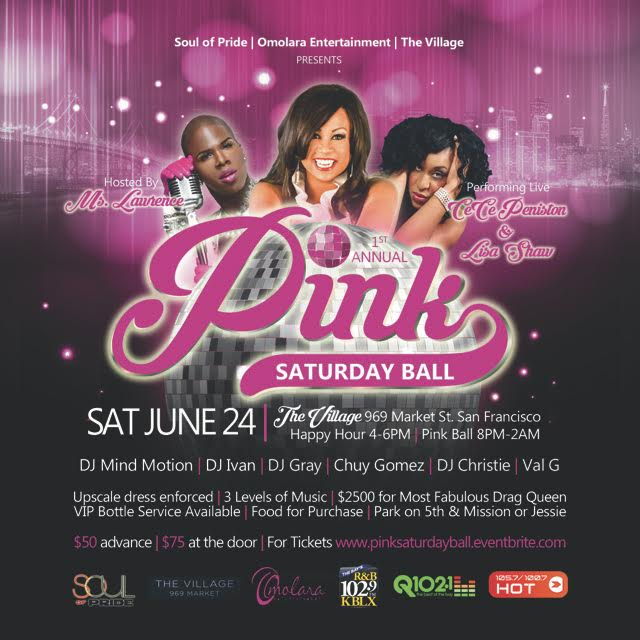 First Annual Pink Ball Flyer