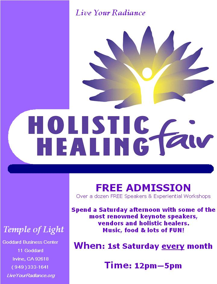 FLYER Holistic Healing Fair