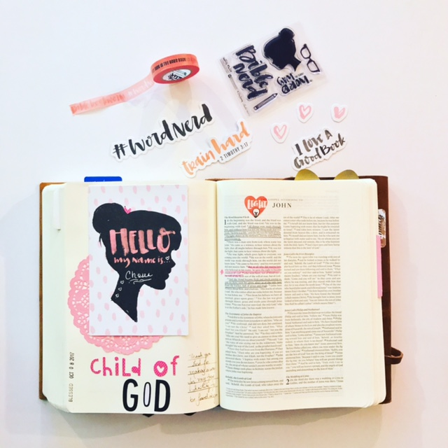 Bible Journaling Sample