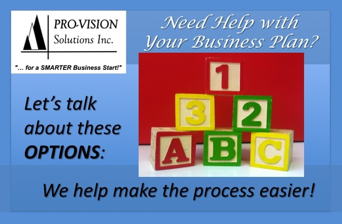Pro-Vision's Business Planning Services