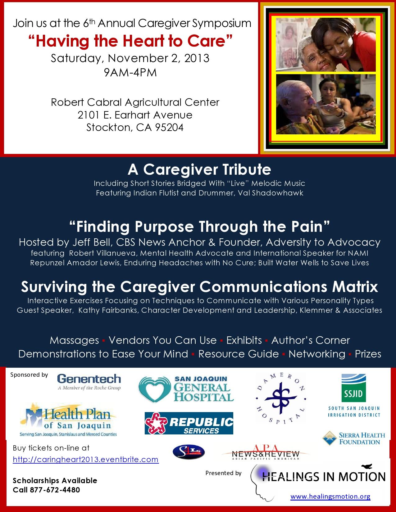 November Event for Caregivers