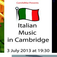 ITALIAN MUSIC IN CAMBRIDGE