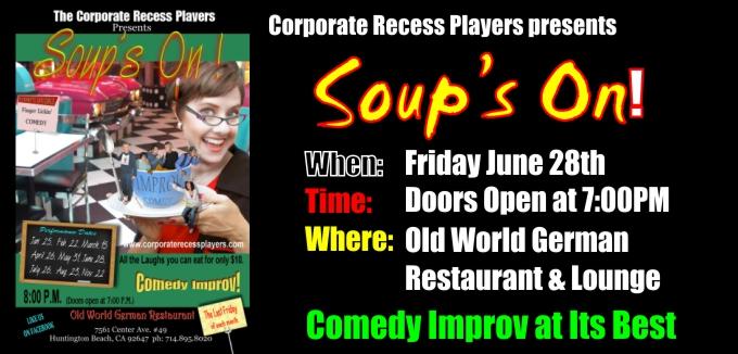 Comedy Improv Show - 5th Anniversary Show
