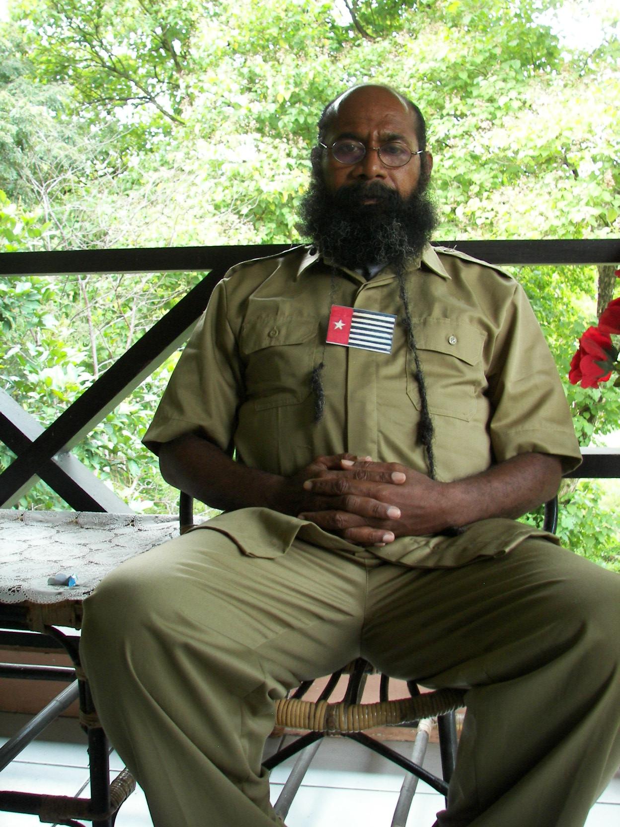Filep Karma, an Amnesty International Prisoner of Conscience