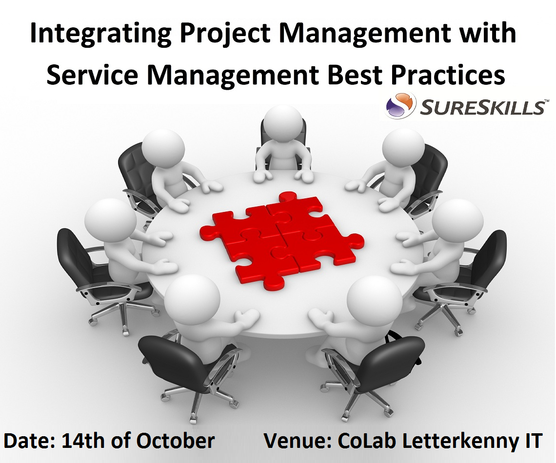project and service management event Donegal