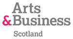 arts and business scotland logo