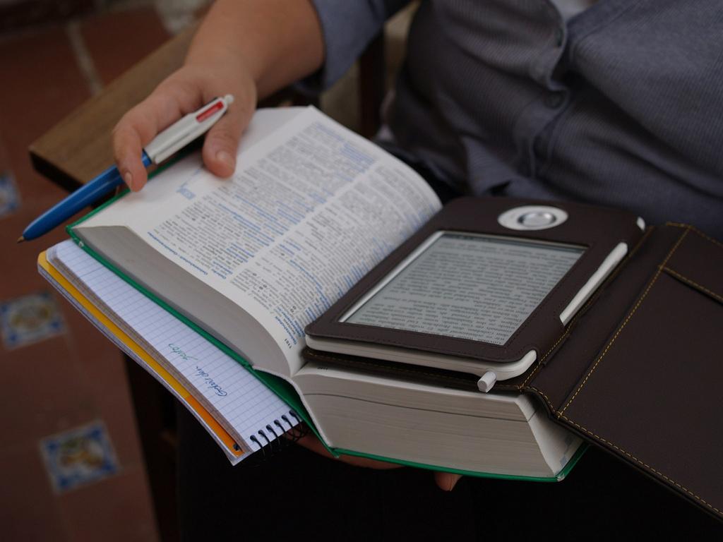 ebook & real book