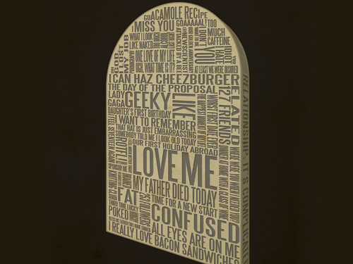 Digital Legacy tombstone