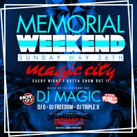 NYC MEMORIAL WEEKEND PARTY PARTIES DJ MAGIC BIRTHDAY BASH @...