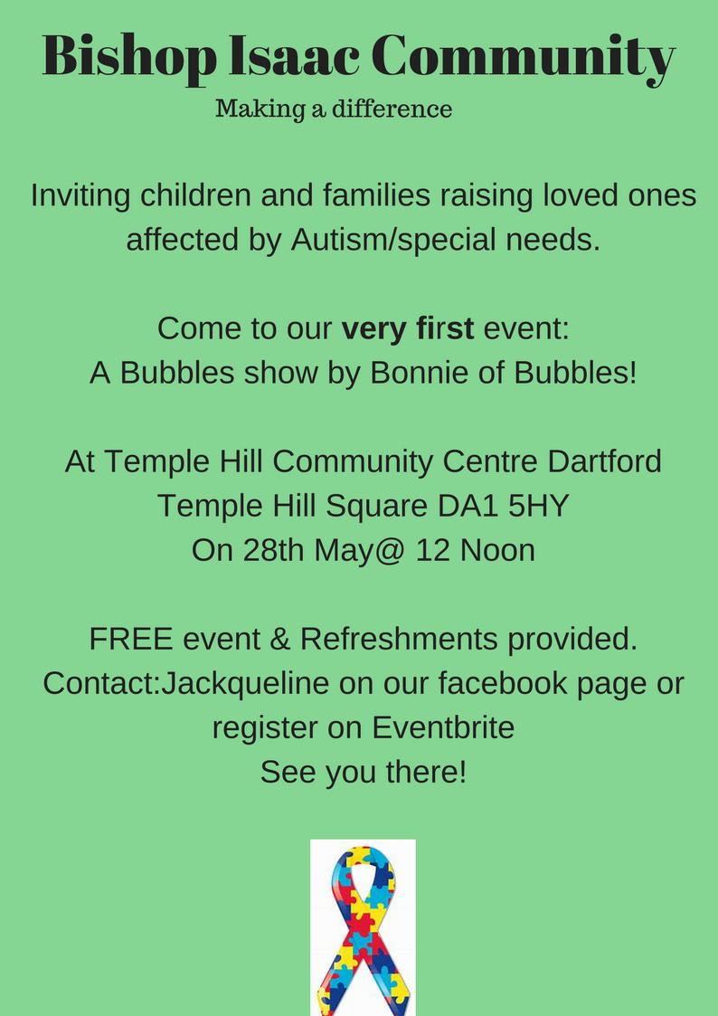Autism/Special Needs Event