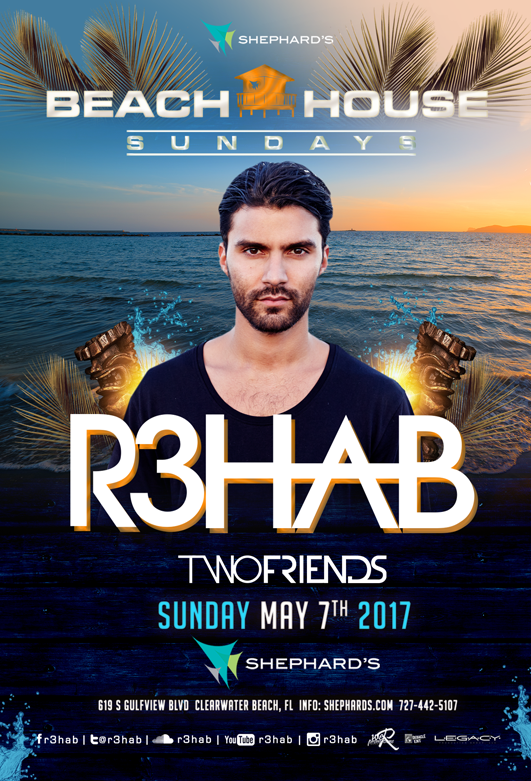 The Beach House Movie Part - 27: The One And Only R3HAB Takes The Stage On Sunday May 7th For Beach House  Sundays!!! R3HAB Is One Of The Most Amazing Dju0027s In The World And He Will  Be ...