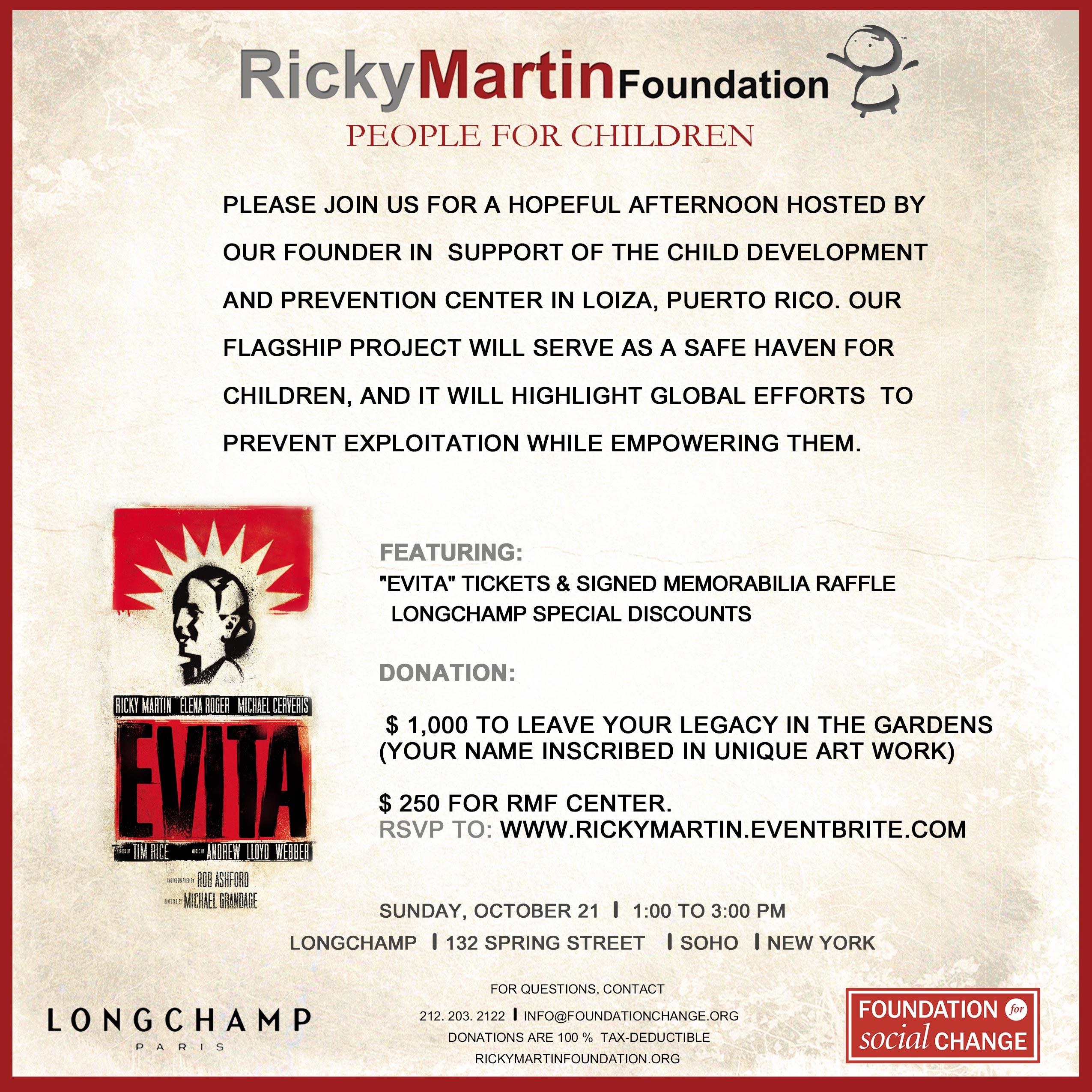 People for Children Fundraiser at Longchamp