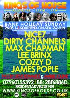 KINGS OF HOUSE UK - SOUTHEND - ALLDAYER - 1ST YEAR BIRTHDAY -...