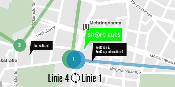 Karte zur Langen Nacht der Designstudios