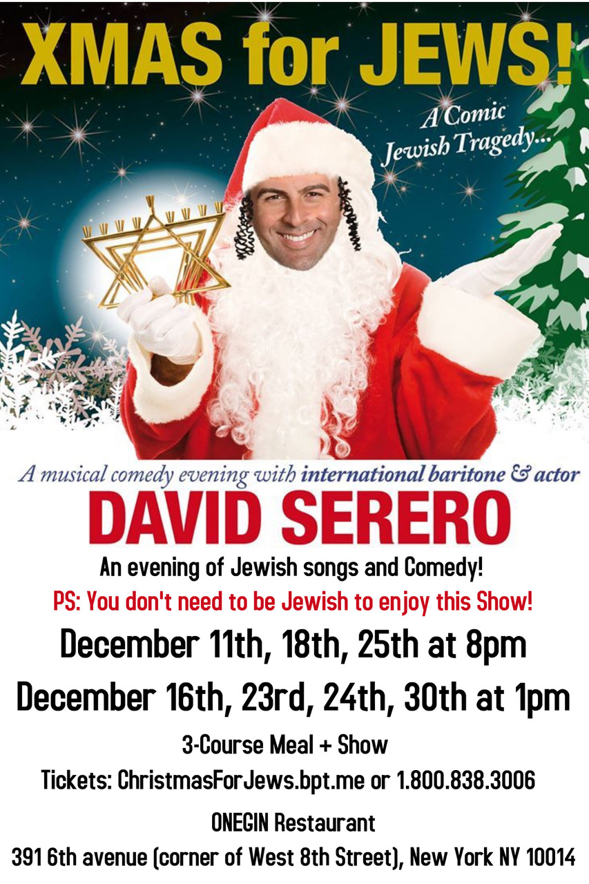 XMAS for JEWS / CHRISTMAS for JEWS! - A Comic Jewish Musical Tragedy ...