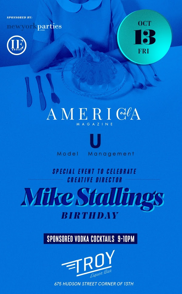 Fashion Networking Party with U Model Management, Cool Magazine, Mike Stallings
