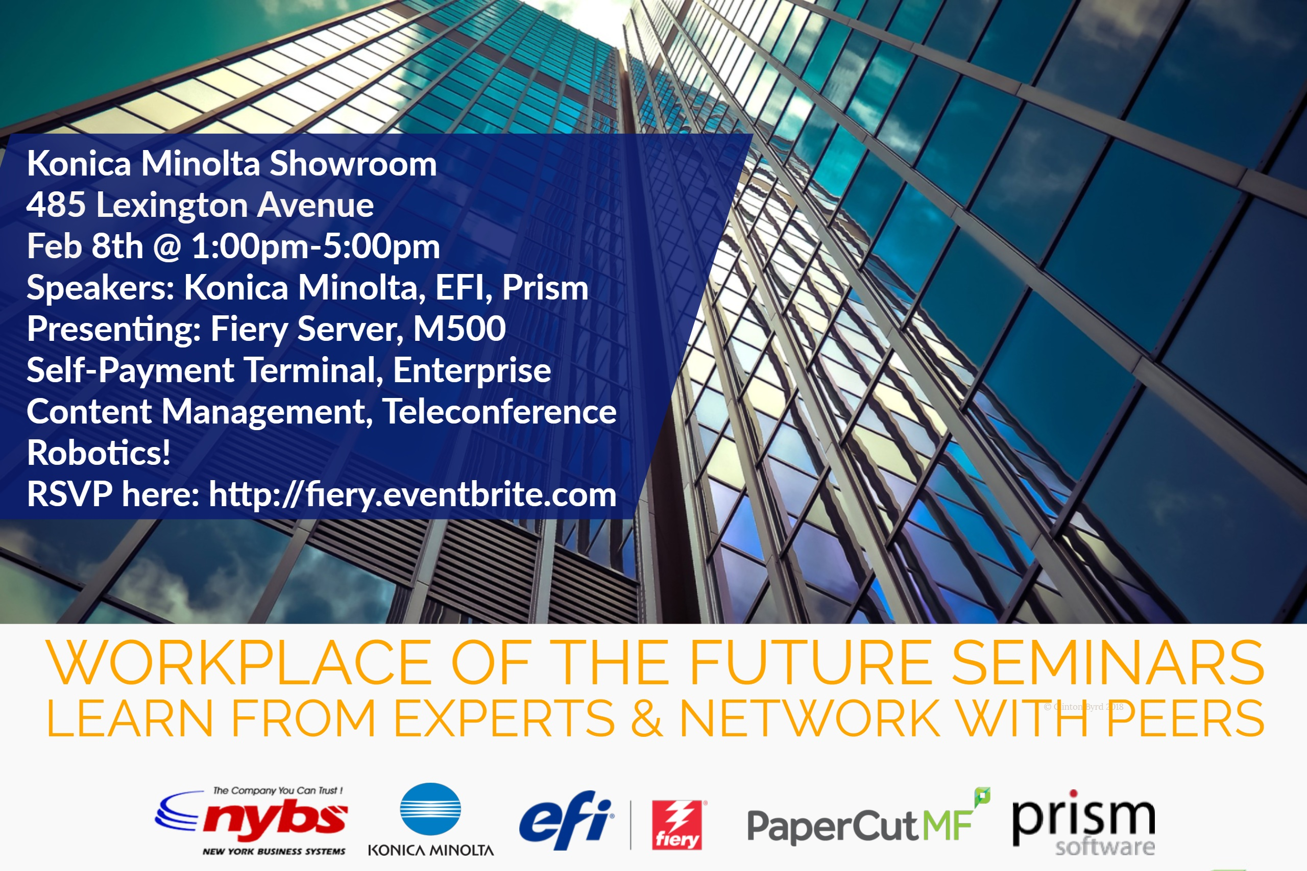 workplace of the future tech events by nybs and konica minlta