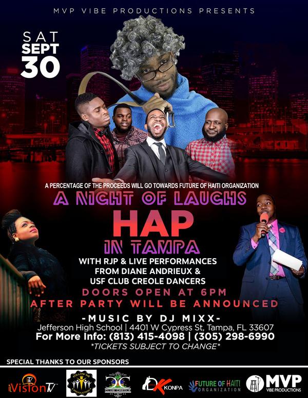 Haitian Comedy show