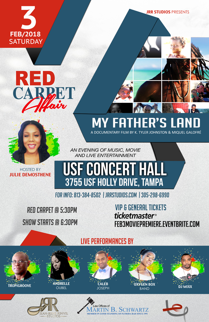 My Father's Land movie Premiere