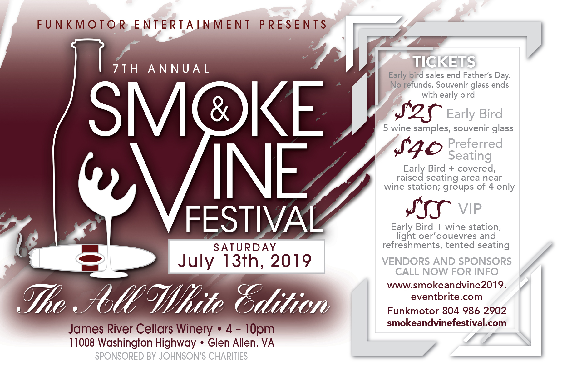 Smoke and Vine 2019