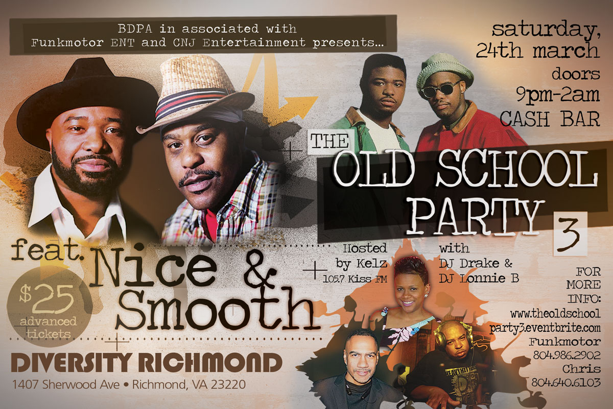 The Old School Party 3 featuring Nice and Smooth
