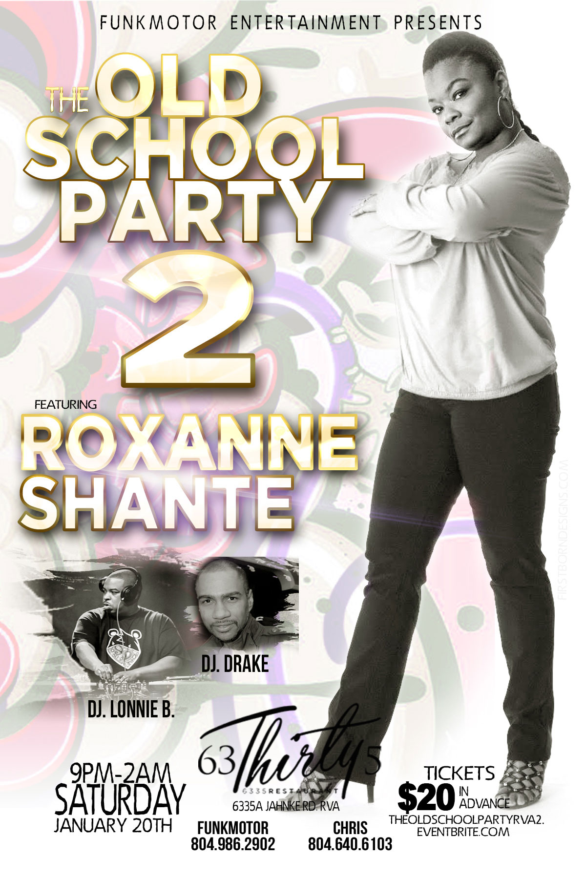 The Old School Party Part 2 featuring Roxanne Shante