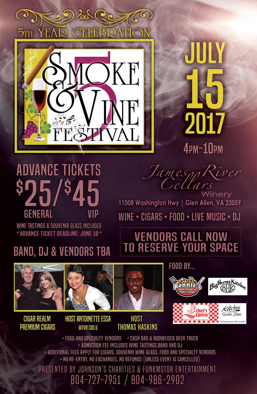 Smoke and Vine Festival 2017
