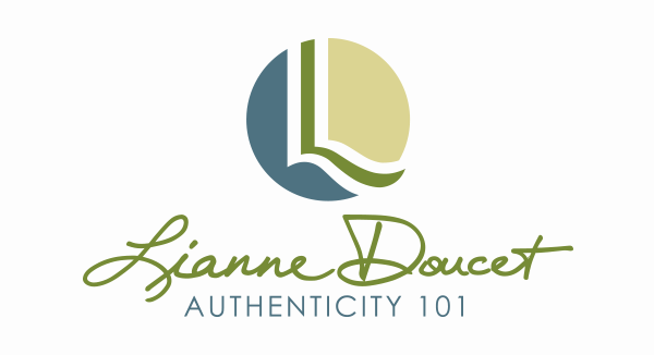 Lianne Doucet Authenticity 101 Business Logo