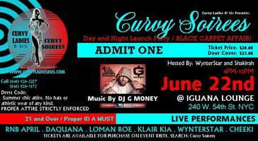 Curvy Soirees Day and Night Launch Party Affair