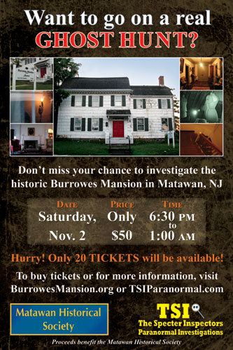 A Paranormal Investigation of the Historic Burrowes Mansion
