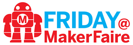 Friday @ Maker Faire logo