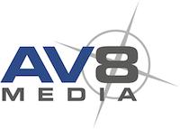 AV8 logo