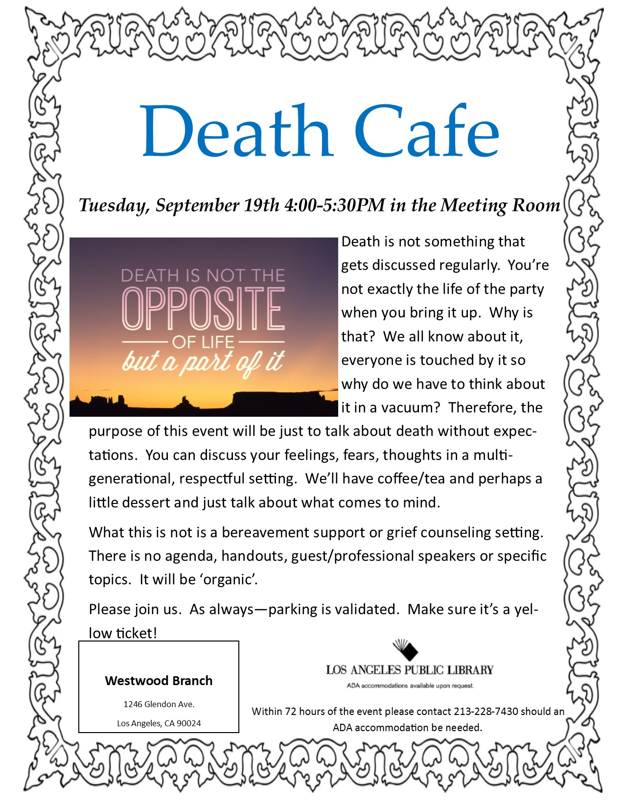 september death cafe