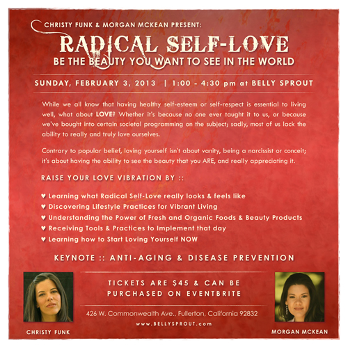 Radical Self-Love Flyer 500x500