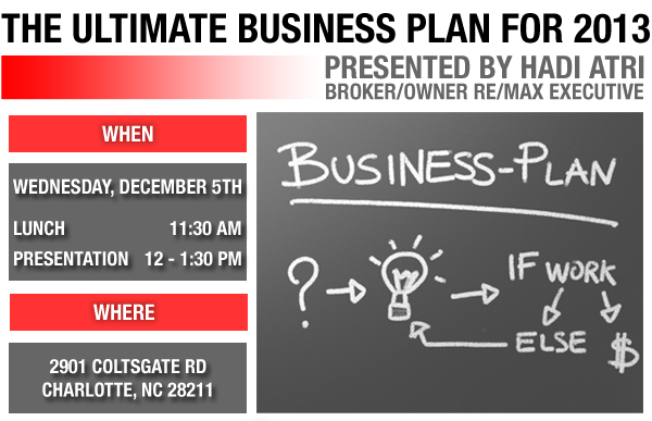 The Ultimate Business Plan 2013