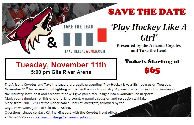 Play Hockey Like A Girl