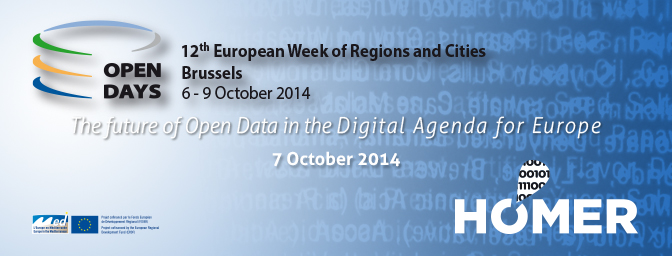 HOMER project Conference: The future of Open Data in the Digital Agenda for Europe