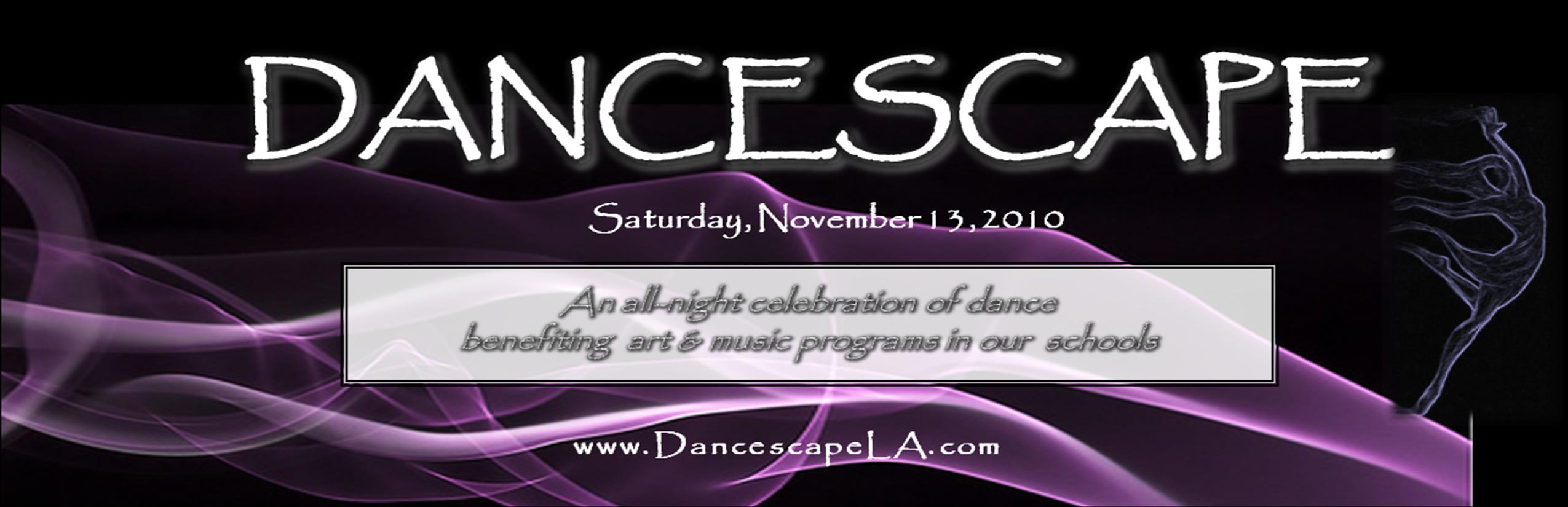 Dancescape XI Flyer