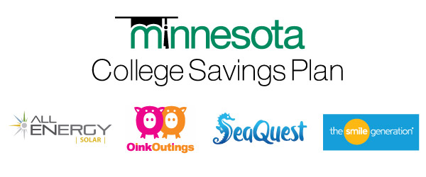 Minnesota College Savings Plan - All Energy Solar - OinkOutings - SeaQuest - The Smile Generation