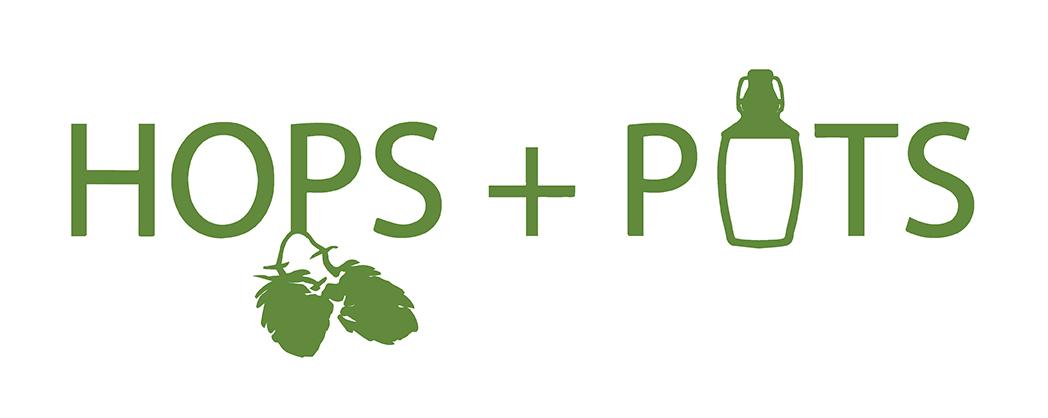 Hops+Pots Logo